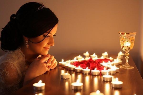 Гадание на свечах на исполнение желания