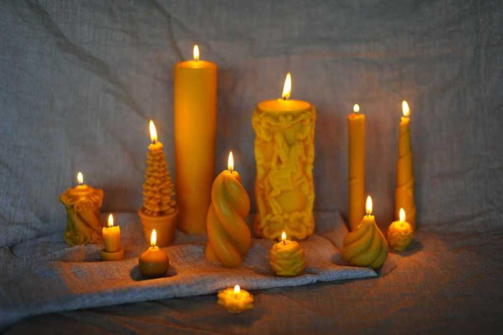 Свечи для гадания